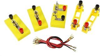 ULTECHNOVO Física Ciência Laboratório Equipamentos Circuito Aprendizagem Kit Inicial Kit Eletricidade Experimento para ...