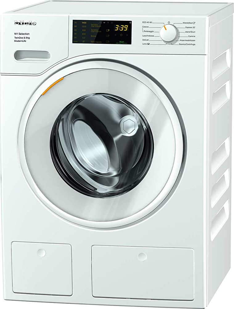Miele modern life, lavatrice standard, a+++ -10%, 50 db, 1400 rpm, carico frontale, 8 kg 11SD6631
