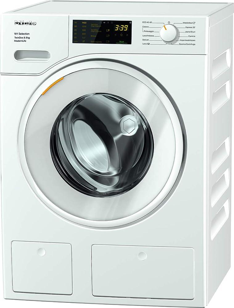 Miele modern life, lavatrice standard, a+++ -10%, 50 db, 1400 rpm, carico frontale, 8 kg 11SD6631