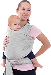 Baby Wrap Carrier - All in 1 Stretchy Baby Sling - Baby Carrier Sling - Baby Carrier Wraps - Baby Carriers for Newborn, In...