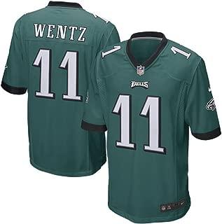 Carson Wentz Philadelphia Eagles Youth Nike Green Game Jersey (Youth Sizes)