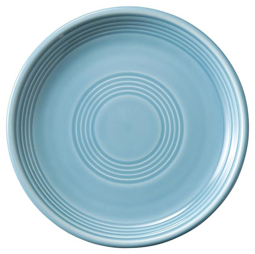 バトル怠惰組立光洋陶器 オービット ミート皿 23cm ターコイズブルー 12686004