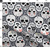 Calaveras, Skelett, Totenkopf, Tag Der Toten, Halloween,