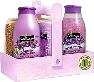 Cottage Coffret Beauté Noël Parfum Violette & Praline Rose