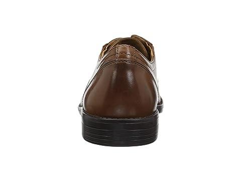 Leather Bostonian Birkett LeatherDark Black Cap Tan OyqTxF