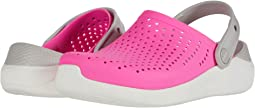 Electric Pink/White