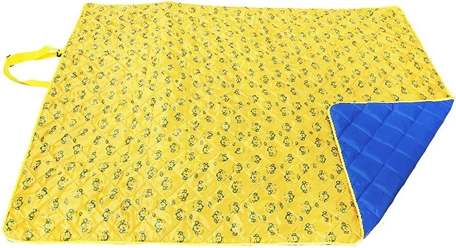 Couvertures de pique-nique Camping en plein air épaississeHommest de tapis de camping en bas Imperméabilisation (Couleur   bleu)