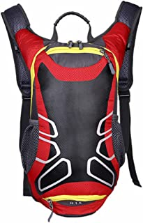 Skytower 15L Lightweight Bike Riding Helmet Backpack Basketball Net Bag Daypack Camping Mountain Top Travel Daypack Casual Backpack School Backpack for Outdoor Sport