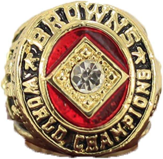 Rugby 1964 Cleveland Browns Championship Ring Meisterschaft Ringe Champion Ring Replica f/ür Fans Herren Geschenkideen,Without Box,11