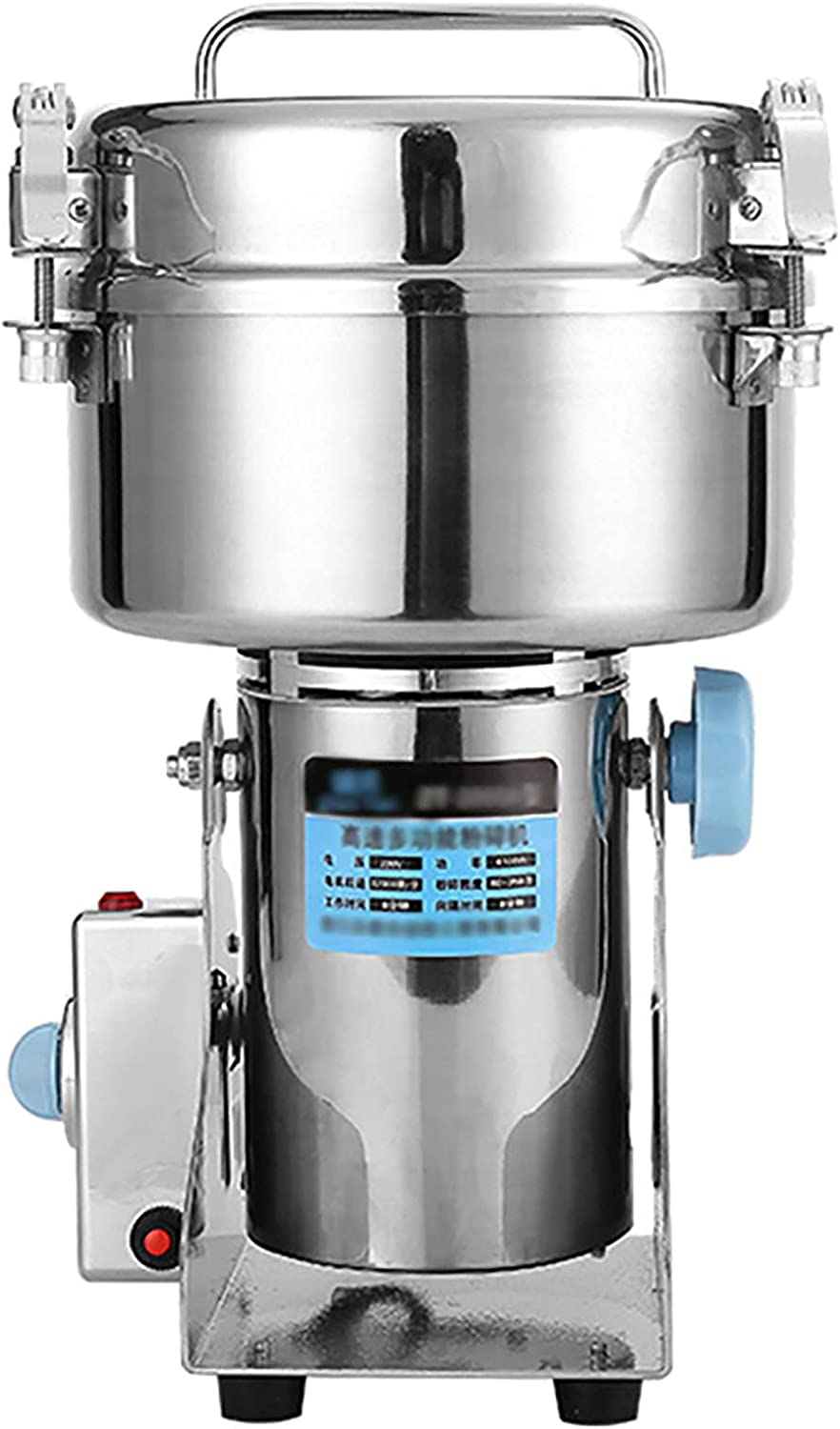 2000g Electric Grain Grinder Mill Topics on TV Spice Herb Com High-Speed Louisville-Jefferson County Mall