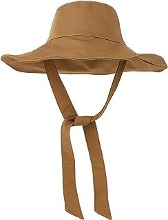 LAPI.ZAPI Wide Brim Bucket Hat for Womens Summer Hat Fashion Accessories Beach Gardening Cap