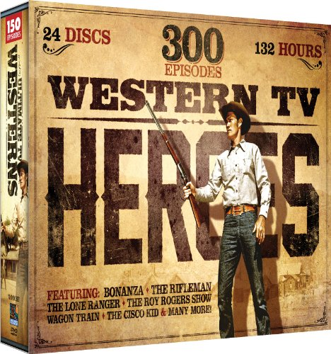 Western Tv Heroes 1: 300 Episode Collection Sxs [DVD] [Region 1] [NTSC] [US Import]