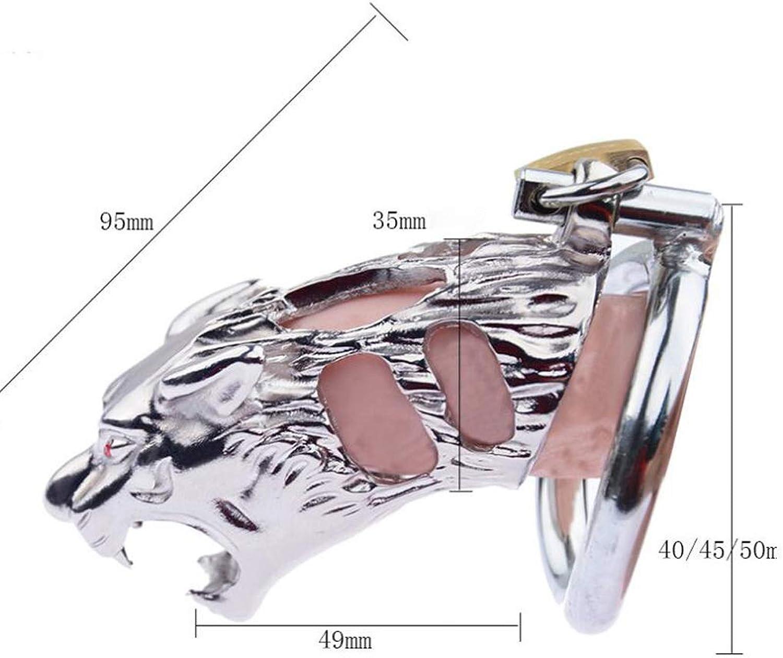 CJH Tiger-Männchen-Keuschheitsschloss-hohler Belüftungsentwurf des Edelstahl-männlichen Edelstahl-männlichen Edelstahl-männlichen B07Q2KRYBL  Gutes Design 308098