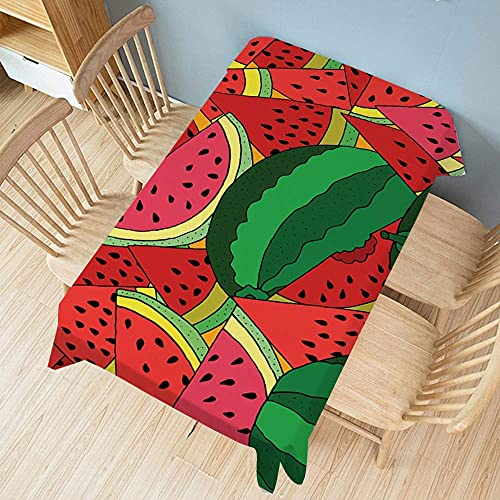 n.g. Family Life Equipment Tischdecken Tischdecke Bedrucktes Obstmuster Rechteckige Tischdecke Staubschutz Handtuch Für Küche Esszimmer Tischplatte ation (Color : 2 Size : 140x140cm)