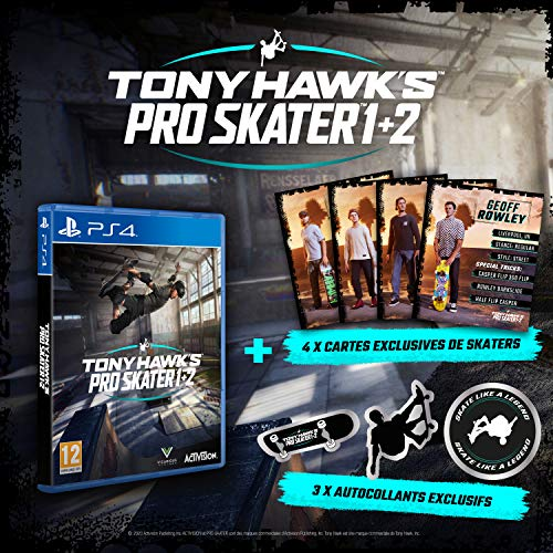 Tony Hawk's Pro Skater 1+2 - Exclusif Amazon (PS4)