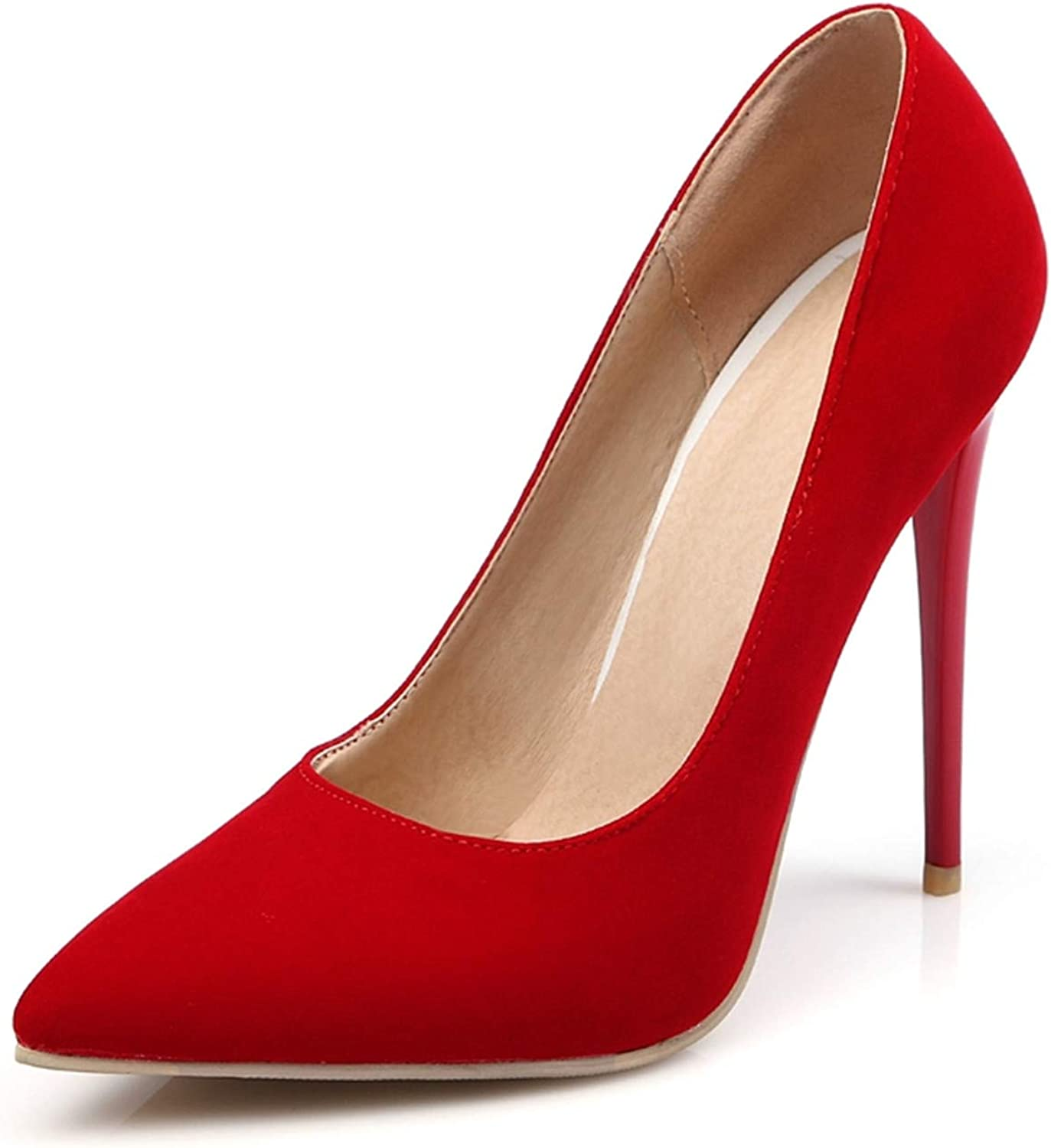 Micca Bacain 12cm Shallow Thin High Heels Pumps Dress Office Lady's Pointed Toe Summer Women shoes Stilettos