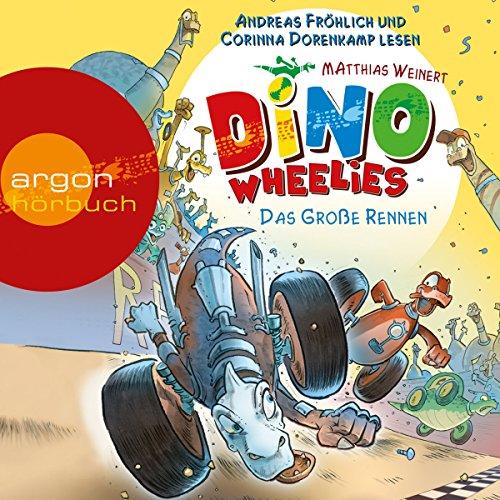 Das große Rennen (Dino Wheelies 2) Titelbild