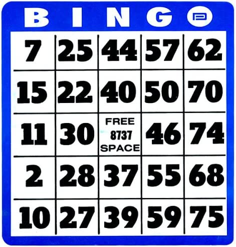 Import Low Vision Cards Bingo Charlotte Mall