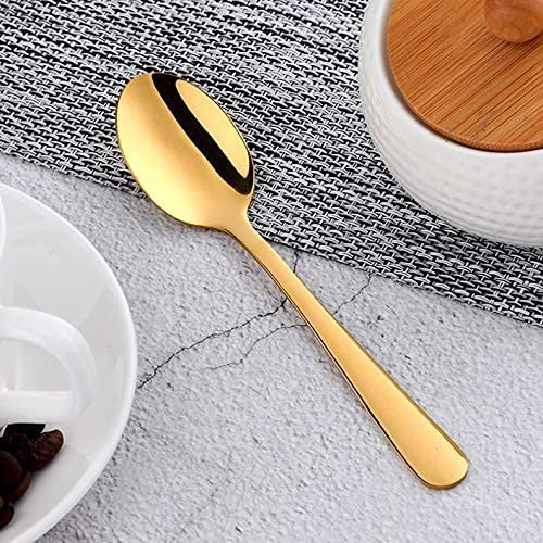 Silverware Daily bargain sale Set Max 88% OFF 1lot 4pcs Small Coffee 8 18 304 Stainless Spoon