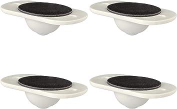 4-delige zwenkwielen voor kleine meubels, Zelfklevende bewegende zwenkwielen voor containers - Geschikt voor verschillende...