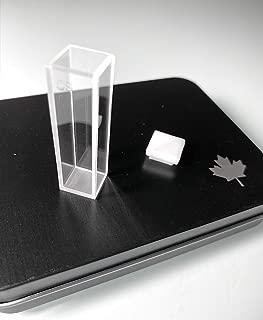 UV Quartz Cuvettes (Pathlength: 10 mm; Chamber Volume: 3.5 ml; Four-Sided Windows) (Qty: 1)