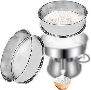 Sidasu Vibrating Sifter Mesh Screen Stainless Steel Vibrating Sieve Mesh Screen 60 Mesh for Automatic Powder Sifter Machine