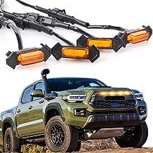 Aukee Grill Amber LED Light Insert for 2016-2019 Toyota Tacoma TRD Pro 4Pcs Lamps