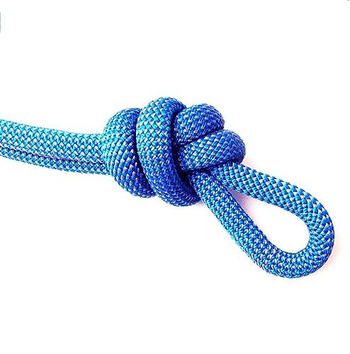 LIZIPYS Cordes Corde d'escalade Corde Statique Corde de Descente Rapide Corde d'escalade extérieure Corde de sécurité en Nylon Diamètre 11 12   14mm Longueur 10 20 30 40 50   100m Bleue