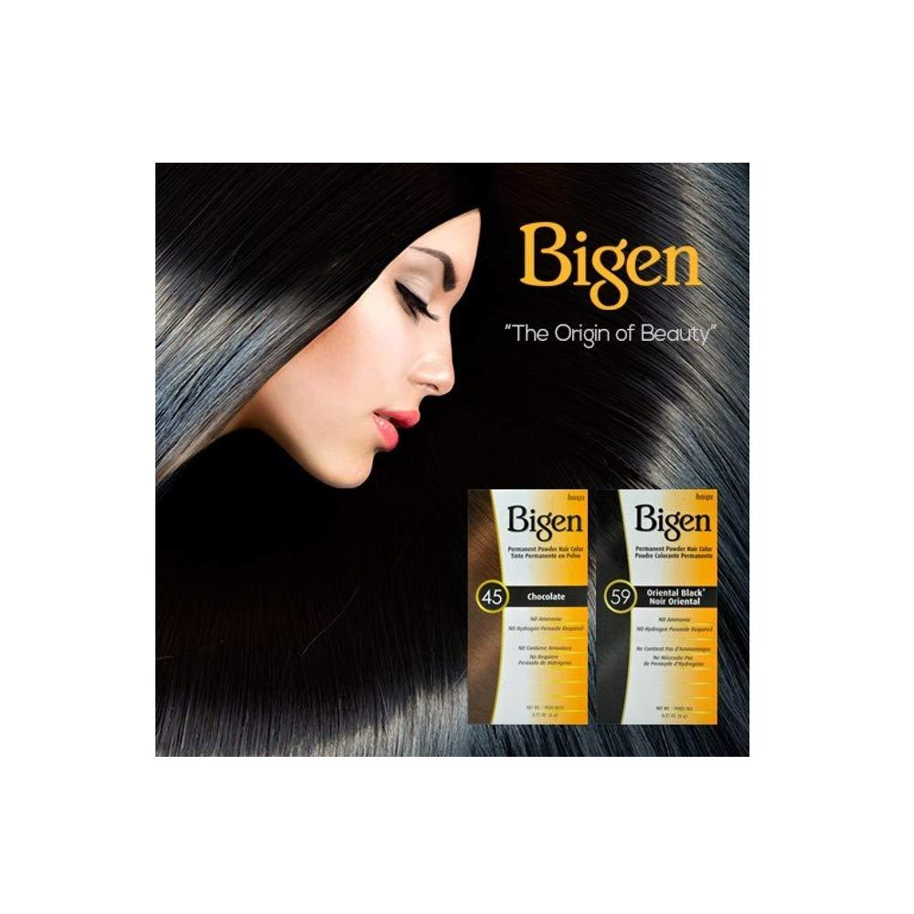 6 PACK Bigen Hair Color Louisville-Jefferson County Mall Our shop OFFers the best service Dyes 0.21oz 59-Oriental Bl
