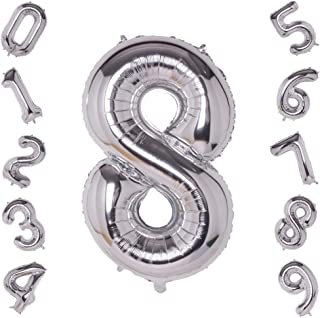 Best number 8 balloons Reviews