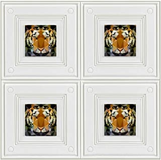 Face Tiger Sticker Wall Decor Panel Wall Paper Child Wallpaper for Bedroom Living Room Background Wall Decor