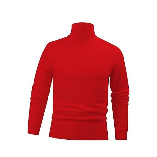 Men s Combed Cotton Euro Design Ski Casual Turtleneck 474462a6a