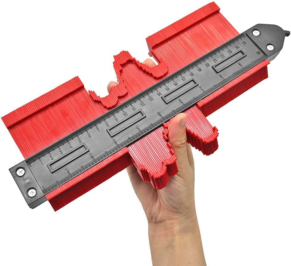 Medidor de contornos con cerradura, 10