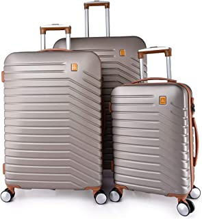 TRACK Luggage set HARD 3 pieces size 30/25/20 inch 9012/3P (Champagne)