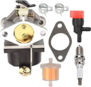 Kaymon 640065A 640065 Carburetor Fuel Filter for Tecumseh 4-Cycle Vertical Shaft Engine OHV125 OHV130 OVH135 OHV110 OHV115 OHV120 OV358EA 13Hp 13.5Hp 14Hp 15Hp Tractor MTD Yard Machine