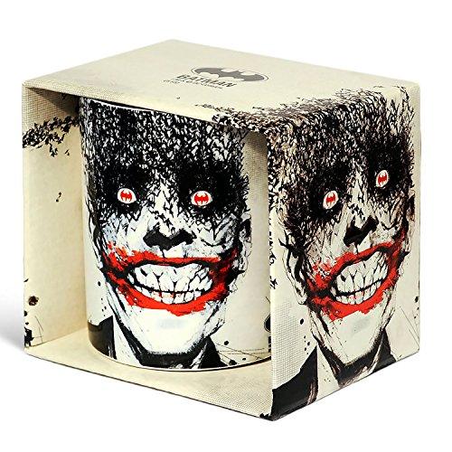 Logoshirt DC Comics - Batman - Joker Bats Porzellan Tasse - Kaffeebecher - weiß - Lizenziertes Originaldesign