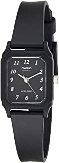 Casio Casual Watch Analog Display Quartz For Women Lq-142-1B, Black Band