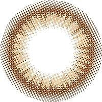 カラコン メランジェ シュエット ワンデーモイストイン アイリッシュブラウン1箱10枚入 14.5mm 度あり (-4.25)