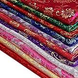 Immagine 1 cinese raso seta sintetica tessuti