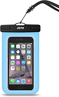 "JOTO Universal Waterproof Pouch Cellphone Dry Bag Underwater Case for iPhone 11 Pro Max XS Max XR XS X 8 7 6S Plus, Galaxy S10 S9 Plus S8 + Note 10+ 10 9 8, Pixel 4 XL Pixel 4 3 2 up to 6.8"" -Blue"