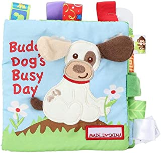 Mumoo Bear Baby Soft Book Cloth Book Crinkle Books Educational Learning Toy for Infant Fabric Baby Activity Crinkle Book f...