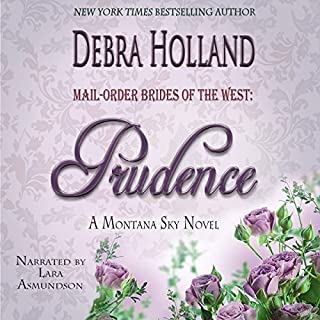 Mail-Order Brides of the West, Book 4: Prudence audiobook cover art