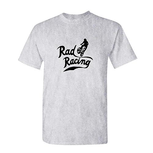 0e68be147b4 RAD Racing Retro Vintage 80 s BMX Biking - Mens Cotton T-Shirt