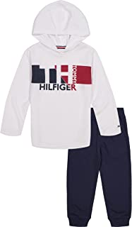 Baby Boys' 2 Pieces Hooded Pants Set