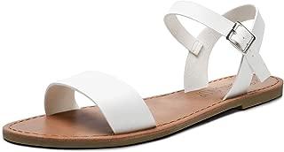 mia elle faux leather sandals