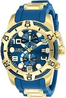 Men's Bolt Quartz Watch with Polyurethane Strap, Two Tone, 29 (Model: 24217)