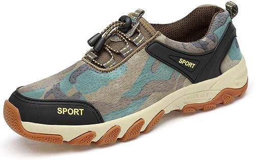 Sun Chaussures de randonnée extérieure décontractée Sports chaussures Old Father 30-40-50 Ans (Couleur   3, Taille   EU41 UK7.5-8 CN42)