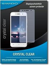 2 x SWIDO® Protector de pantalla Homtom HT37 Pro Protectores de pantalla de película