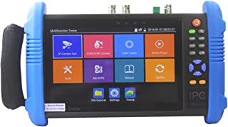 ETEKJOY IPC-9800ADHS-Plus CCTV IP&Analog Camera Tester Test 7-inch IPS Touch Screen Monitor CVBS Tester with HD-TVI/HD-CVI/AHD/SDI/POE/WIFI/8G TF Card/4K H.265/HDMI In & Out/RJ45 TDR/Firmware Upgraded