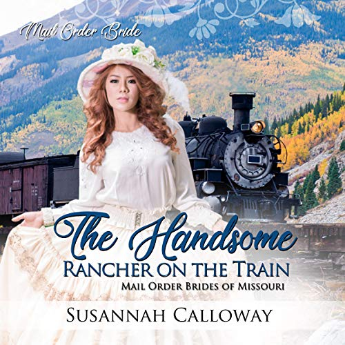 The Handsome Rancher on the Train cover art